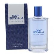 David beckham classic blue eau de toilette 90 ml spray