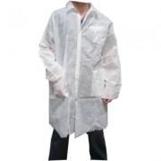Bata Industria TST PP Velcro y Bolsillos Blanco XL (100 Uds)