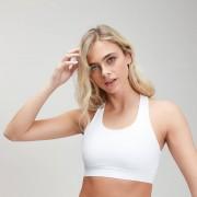 Myprotein Power Cross Back Sports Bra - Weiß - M
