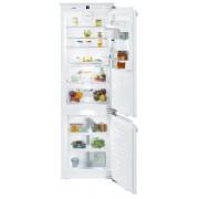 Combină frigorifică încorporabilă Liebherr ICBN 3376, 238 L, NoFrost, SuperCool, SuperFrost, HolidayMode, BioFresh, Display, Control electronic, Siguranţă copii, H 178 cm, Clasa A++
