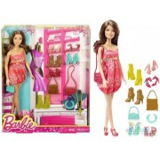 Barbie Doll And Shoes Giftset DMK56