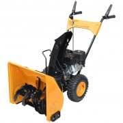 vidaXL Snow Thrower 6.5 HP Yellow and Black