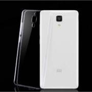 Xiaomi Mi4 genomskinligt skyddsfodral - Grå