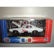 M2 Machines Auto Drags Release 4 CHASE CAR 1969 Pontiac GTO White
