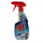Solutie Spray AJAX Anticalcar 4 in 1, Cantitate 500 ml, Detergent pentru Curatarea Suprafetelor din Baie si Bucatarie, Solutie Spray Anticalcar, Solutie de Curatare Ajax Anticalcar, Solutii si Produse de Curatenie