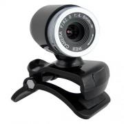 USB HD 50 Mégapixel Webcam Web Caméra Video + Mic pour Computer Laptop NOIR