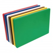 Hygiplas Thick Low Density Chopping Board Set