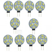 1.5W G4 2-pins LED-lampen T 9 SMD 5730 150-200 lm Warm wit Koel wit 3000/6000 K Decoratief DC 12 V