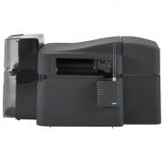 Fargo DTC4500e stampa fronte retro con laminazione, USB, Ethernet Locking Hoppers -55520