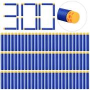 Refill Darts, Yamix 300-Dart Refill Pack Refill Bullets Foam Darts for nerf n strike elite series blasters - Dark Blue + Orange