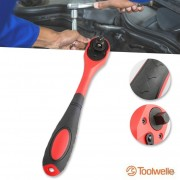 Toolwelle Ratelsleutel 1/2, 3/8, 1/4 Inch 3in1