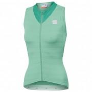 Sportful - Women's Kelly Sleeveless Jersey - Maillot vélo taille S, vert/turquoise