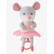 VERTBAUDET Peluche musical, ratinho Mimi rosa claro bicolor/multicolor