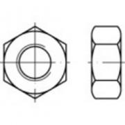 Piulite hexagonale DIN 934, M3, 100 buc., Toolcraft
