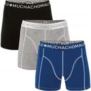 Muchachomalo Boxershorts 3er-Pack 187 - Blau XXL