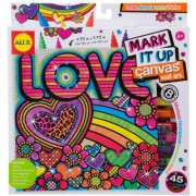ALEX Toys Artist Studio Love Make Your Mark Canvas Wall Art