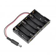 Suport Baterii 6 x AA