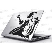 Laptop Matrica - A király