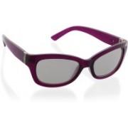 DKNY Rectangular Sunglasses(Silver)