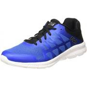 Fila Men's Memory Finity Prince Blue, Black and Metallic Silver Running Shoes - 6 UK/India (40 EU)