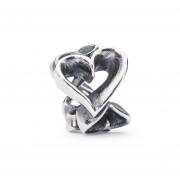 Trollbeads bedel zilver Overvloedige harten TAGBE-10040