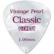 Pickboy Vintage Pick Pearl Cellulose 1.00Mm 10 Picks