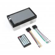 EY 7023B Doble Din Coche Reproductor De DVD De 7 Pulgadas De Pantalla Táctil Bluetooth MP5-Negro