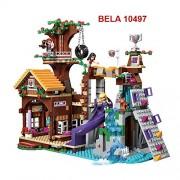 Building Bricks Adventure Camp Tree House Set