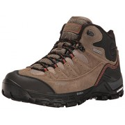 Hi-Tec Men's Ox Belmont Mid I Waterproof Hiking Shoe, Dark Taupe/Warm Grey/Red Rock, 8. 5 D US
