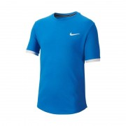 Nike Dry-Fit Tee Boy Blue 140