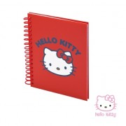 Hello Kitty rood notitieboekje 80 vellen
