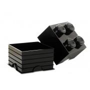 40031733 Cutie depozitare LEGO 4 negru