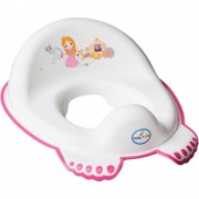 Reductor pentru toaleta Little Princess - Tega Baby - Alb