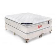 Colchão Castor de Molas Pocket Vitagel SLX Pillow Top Double Face - Colchão Queen Size - 1,58x1,98x0,36 - Sem Cama Box