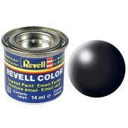 Black, silk 14 ml Revell RV32302