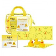 Teach My Baby Bathtime Numbers Toy Yellow