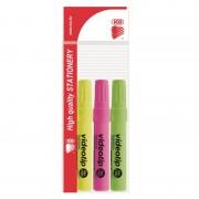 Evidentier ICO 1-4mm diferite culori, set 3 buc