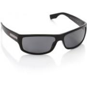 Hugo Boss Round Sunglasses(Black)