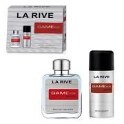 La Rive Game for Men - zestaw, dezodorant, woda toaletowa