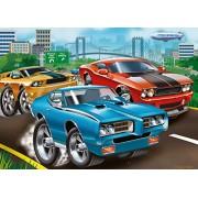 Ravensburger Puzzles Muscle Cars, Multi Color (60 Pieces)