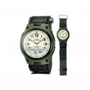 Reloj Casio Deportivo AW-80V-3B Para Caballero- Verde