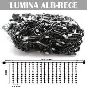 Perdea luminoasa cu 240LED, 5m x 1m (LxH), alb-rece, exterior, DEC24051LFALW