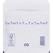 Légpárnás (buborékos) Boríték, Tasak CD - fehér - (100db)