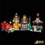 LIGHT MY BRICKS Kit for 10222 LEGO Winter Village Post Office