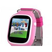 Ceas inteligent pentru copii POPI Roz cu telefon GPS WIFI touchscreen monitorizare spion