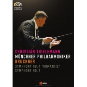 "Bruckner: Symphony No. 4 ""Romantic""; Symphony No. 7 [Video] [DVD]"