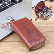Univerzális övre csatolható cipzáras kulcstartó táska - EIFFEL-TORONY MINTÁS