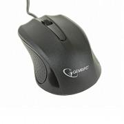 Mouse optic GEMBIRD, 1200dpi, USB, Black (MUS-101)
