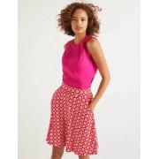 Boden Knalliges Stiefmütterchen Romaine Leinenoberteil Damen Boden, 40, Pink