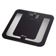 Cantar de persoane AEG PW5653, electronic cu analizatori, afisaj LCD, sticla, 150 kg, Negru